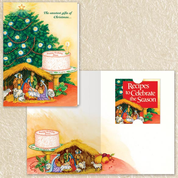 Christmas Blessings Christmas Cards Set of 80 - View 2
