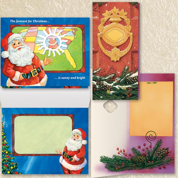 Assorted Christmas Cards Set of 100 - View 2