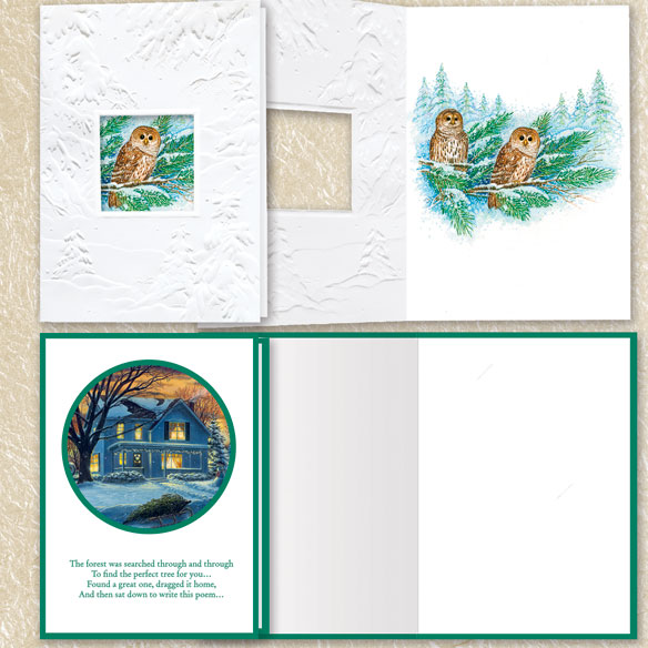 Assorted Christmas Cards Set of 100 - View 4