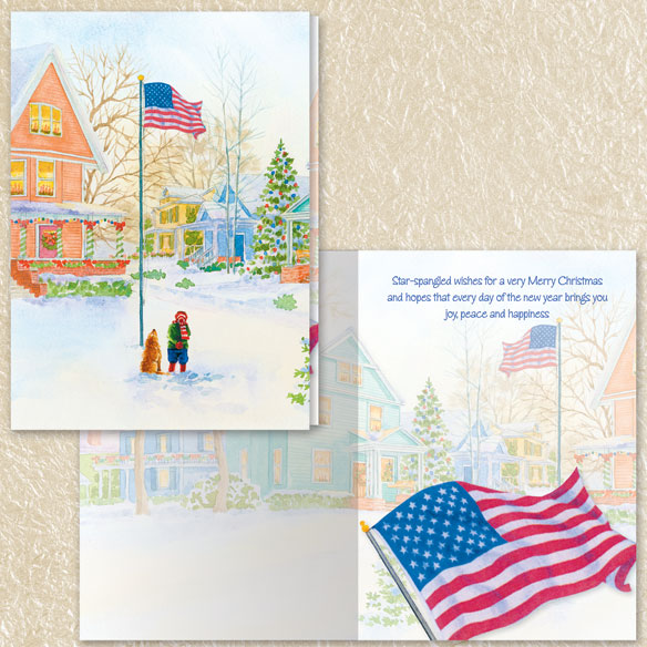 Christmas Nostalgia Christmas Cards Set of 80 - View 5