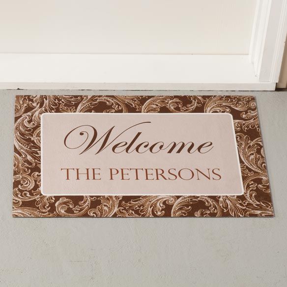 Personalized Scroll Doormat - View 3