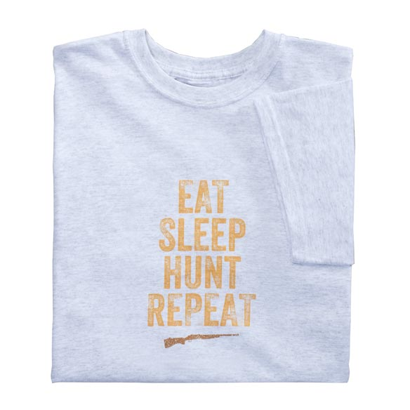 Eat Sleep Hunt Repeat T-Shirt - View 2