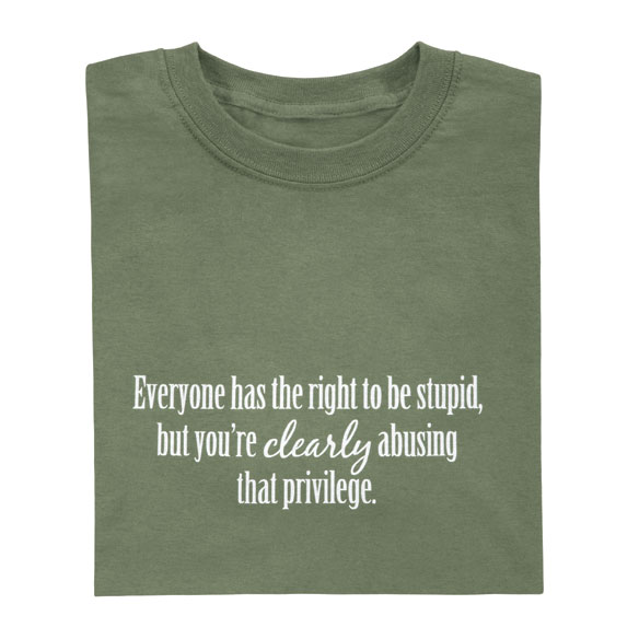 Everyone Has The Right T-Shirt - View 2