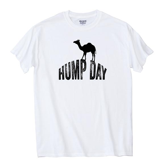 Hump Day T-Shirt - White - View 2