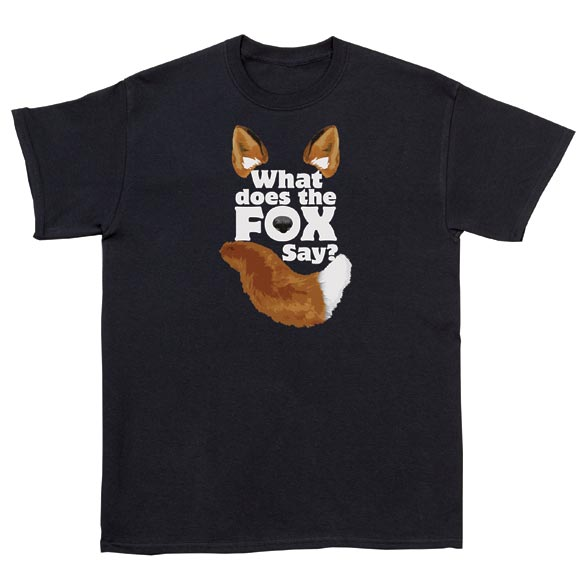 What Does The Fox Say? T-Shirt - View 2