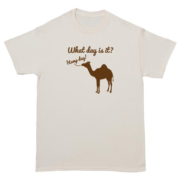 What Day Is It? T-Shirt - Natural - View 2