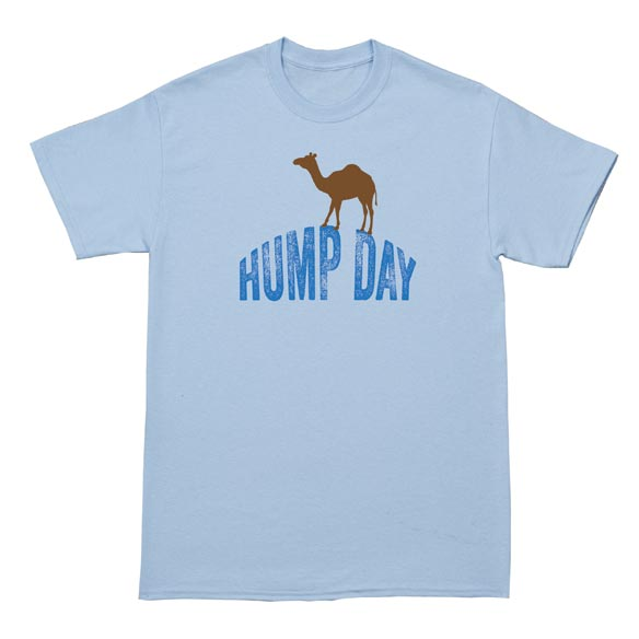 Hump Day T-Shirt - Light Blue  - View 2