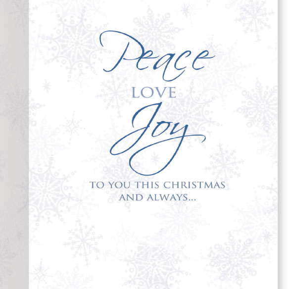 Peace On Earth Card Set of 20 - View 3