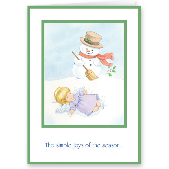 Joys of the Season Non-Personalized Card Set of 20 - View 2