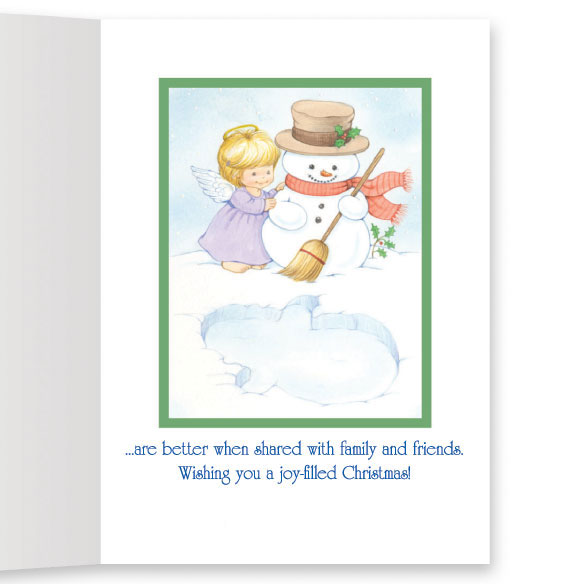 Joys of the Season Non-Personalized Card Set of 20 - View 3