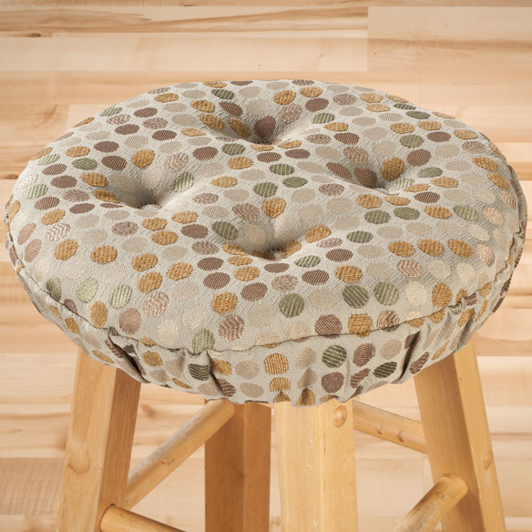 Dotty Bar Stool Cushion - View 3