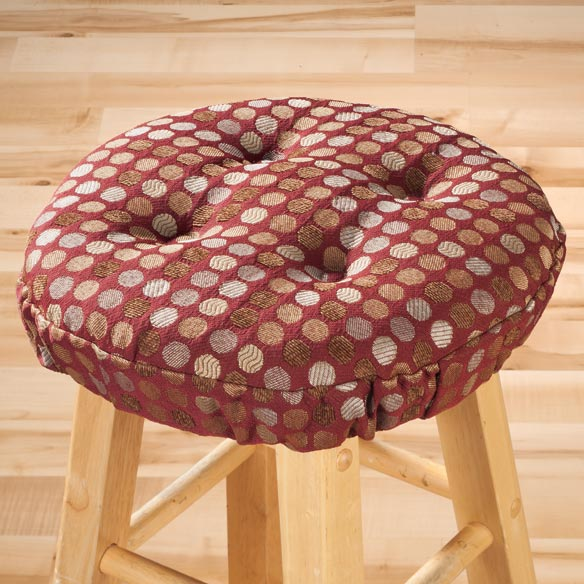 Dotty Bar Stool Cushion - View 4