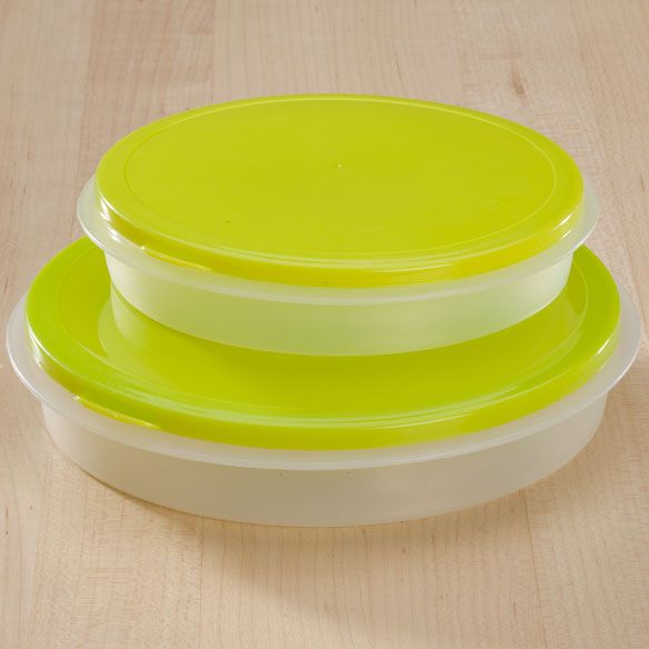 Round Collapsible Food Containers - View 2