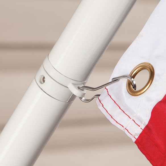 Tangle-Free Flag Pole - View 2