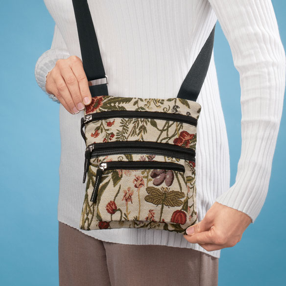 Mini Tapestry Crossbody Bag - View 2