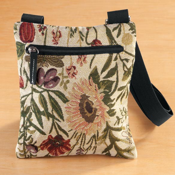 Mini Tapestry Crossbody Bag - View 3