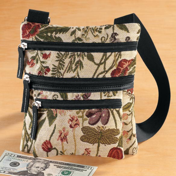 Mini Tapestry Crossbody Bag - View 4