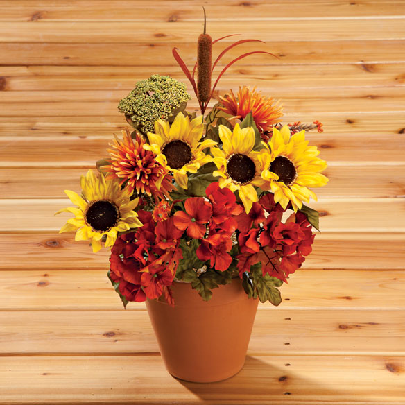 Fall Silk Bouquet - View 2
