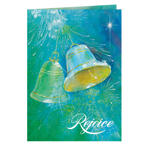 Christmas Bells Christmas Card Set of 20 - View 2