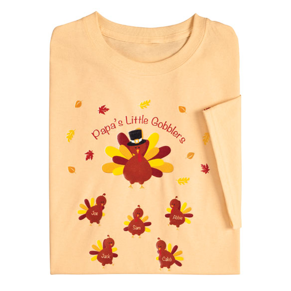 Personalized Turkey T-Shirt - View 2
