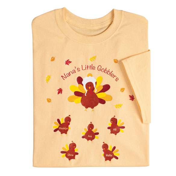 Personalized Turkey T-Shirt - View 3