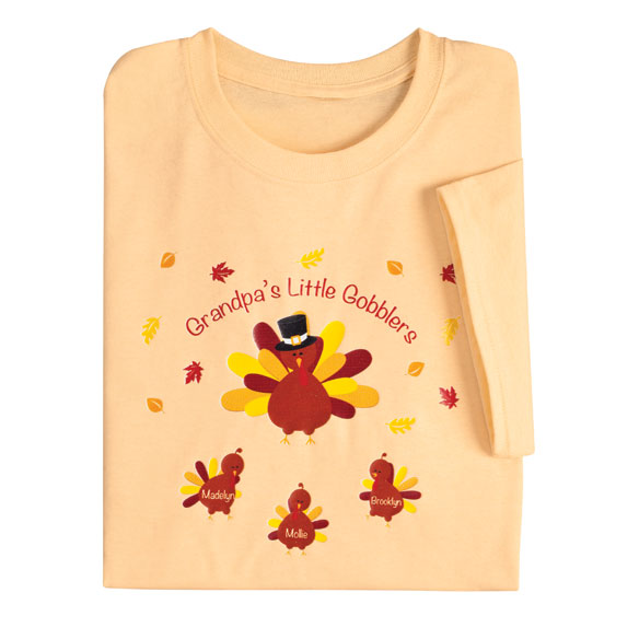 Personalized Turkey T-Shirt - View 4