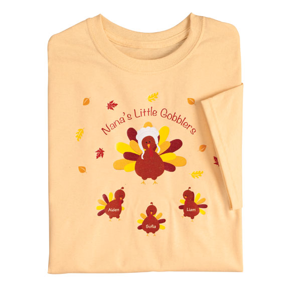 Personalized Turkey T-Shirt - View 5