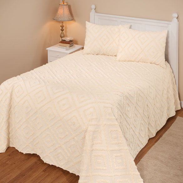 The Laura Chenille Bedspread - View 3