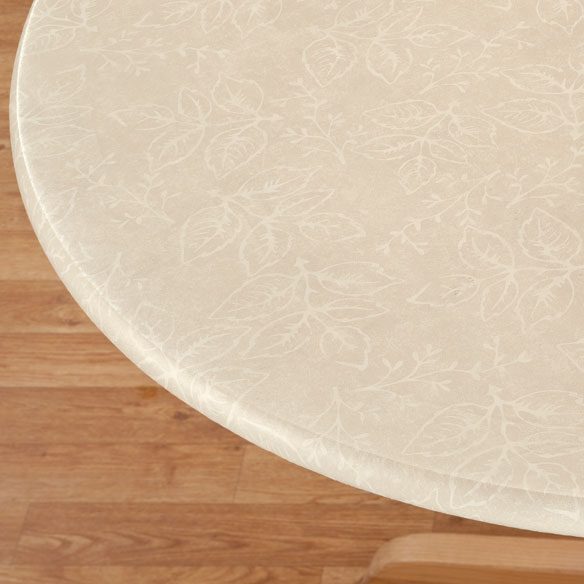 Tonal Leaf Table Cover - View 3