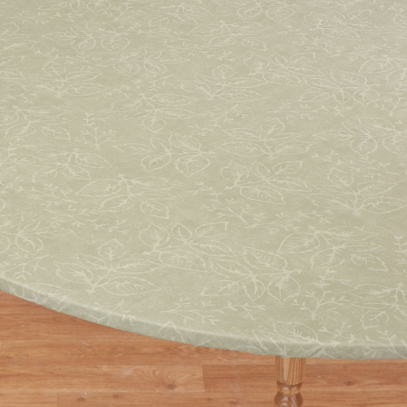 Tonal Leaf Table Cover - View 4