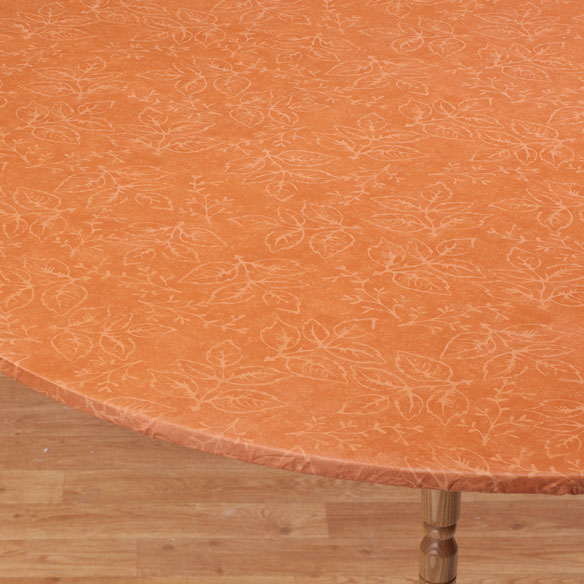 Tonal Leaf Table Cover - View 5