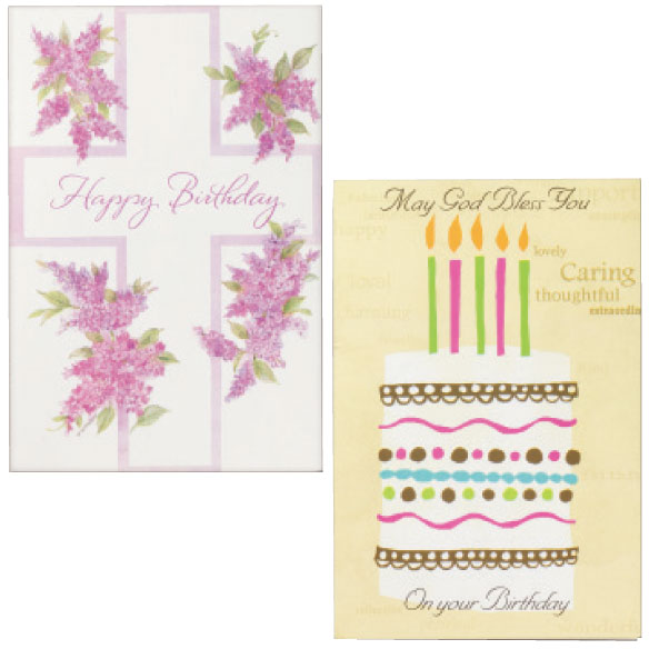 Birthday Cards Set of 24 - View 2
