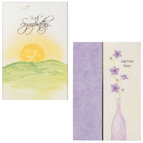 Sympathy & Encouragement Cards Set of 24 - View 3