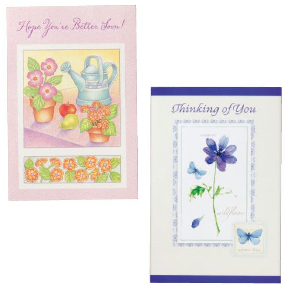 Sympathy & Encouragement Cards Set of 24 - View 4
