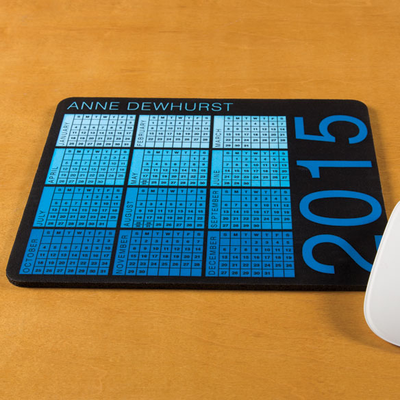 Personalized Essential Calendar Mousepad - View 2