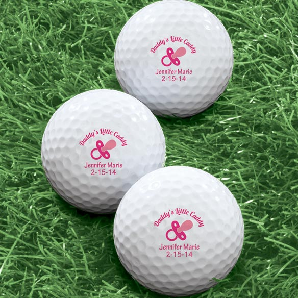 Personalized Pacifier Golf Balls - Set of 6 - View 2