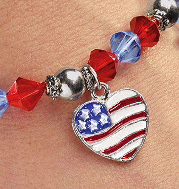 4th of July Charm Bracelet - View 2