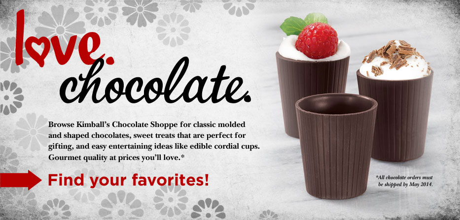 Love Chocolate.  Find Your Favorites >