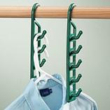 Storage & Organization - Space Saving Hangers - Set Of 4