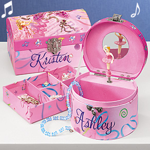 Personalized Ballet Music or Jewelry Box