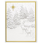Starry Forest Christmas Card Set/20