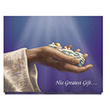 His Greatest Gift Christmas Card Set/20