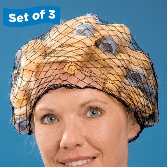 Black Hair Nets, Set of 3