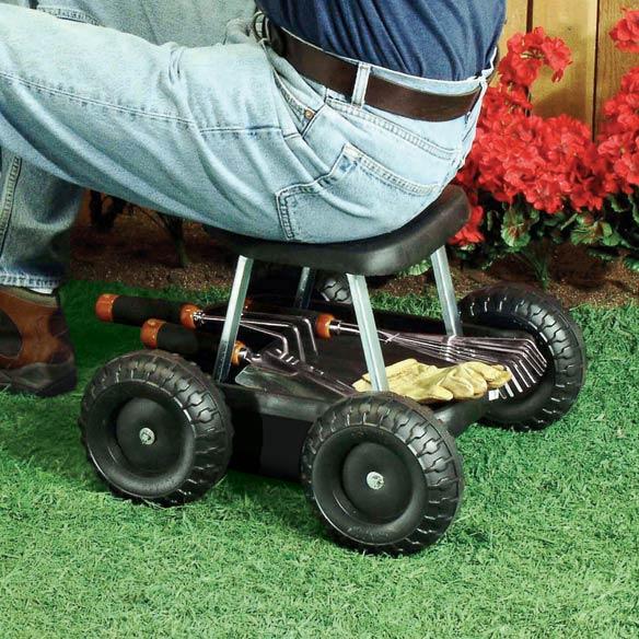 garden scooter garden seat with wheels garden seat