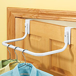 Storage & Organization - Over The Door Clothes Rod