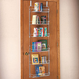 Storage & Organization - Over The Door Storage Rack