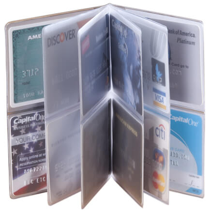 2b0fcbf143e2 Plastic Wallet Inserts - Photo Wallet Inserts - Miles Kimball