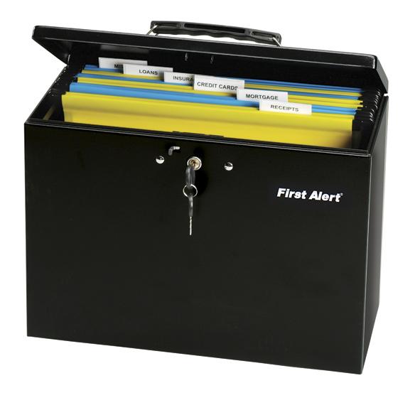 First Alert® Steel File Box