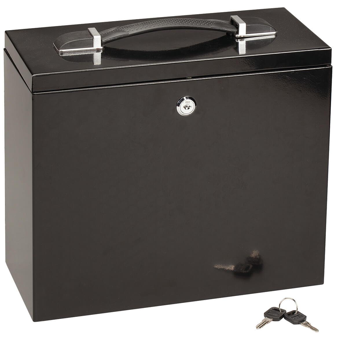 Steel Lockable File Box-303477