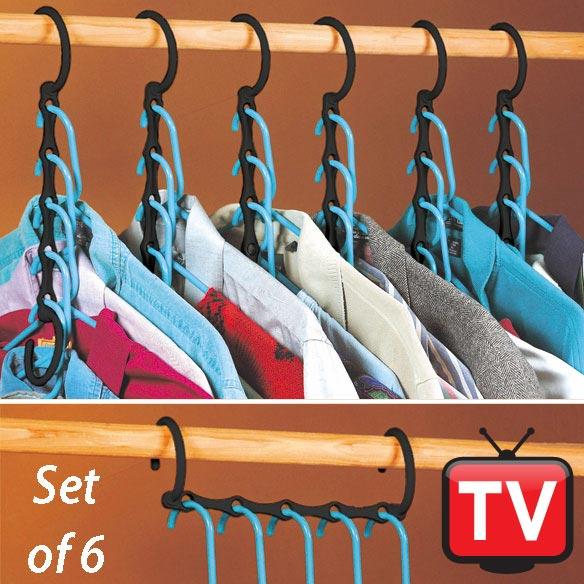 Closet Organizer Set of 6